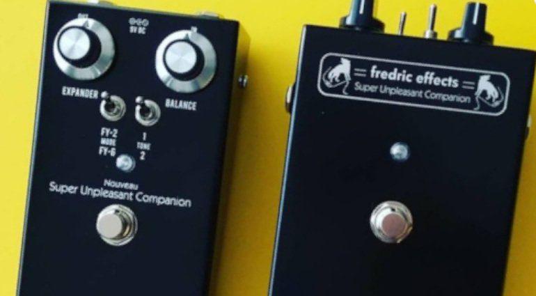Fredric Effects Nouveau Super Unpleasant Companion Effekt Pedal