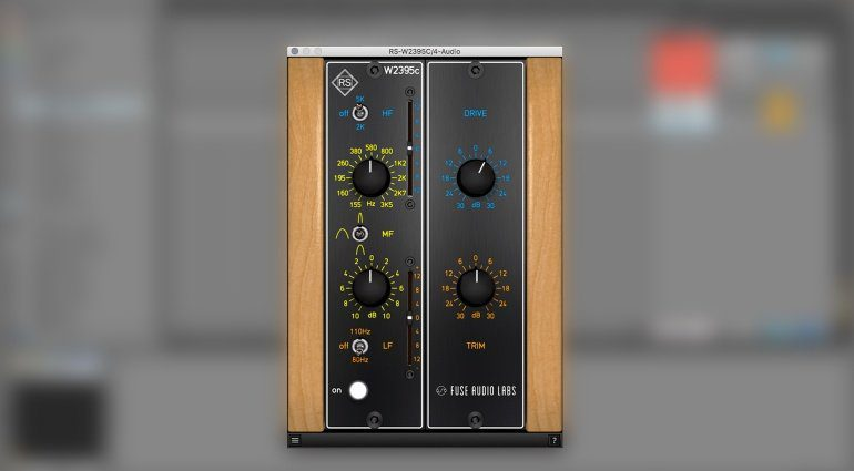 Fuse Audio Labs RS-W2395C Baxandall EQ