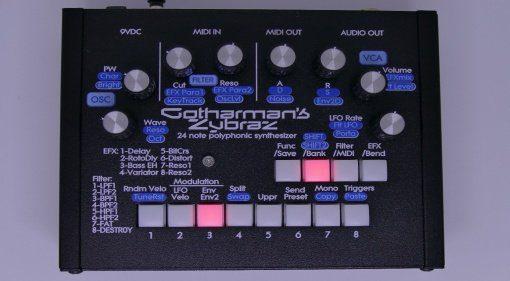 Gotharman's Zybraz: 24-stimmiger Resonator Poly-Synthesizer