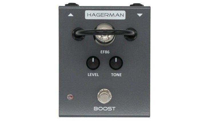 Hagerman Boost Effekt Pedal Front