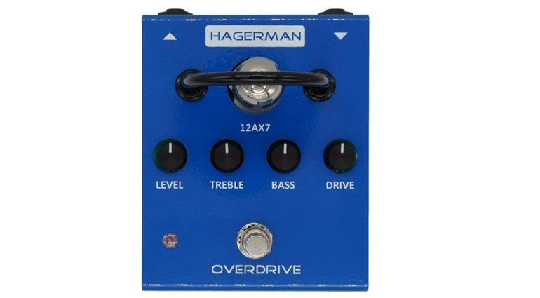 Hagerman Overdrive Effekt Pedal Front
