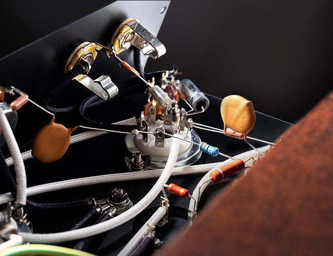 Harmony 8418 tube combo reissued schaltung