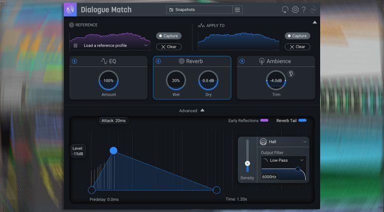 iZotope Dialogue Match: Räume klonen leicht gemacht!