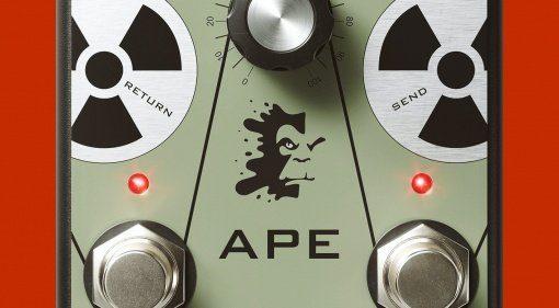 J Rockett Audio Design APE Analog Preamp Experiment Effekt Pedal Teaser