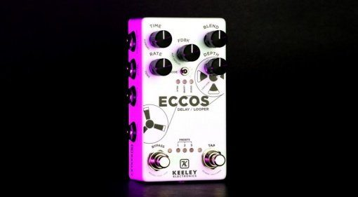 Keeley-Eccos-Delay-and-Looper-pedal