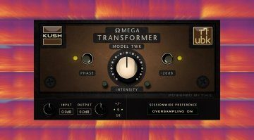 Kush Omega Transformer Model TWK: analoger Tweaker Sound für eure Tracks