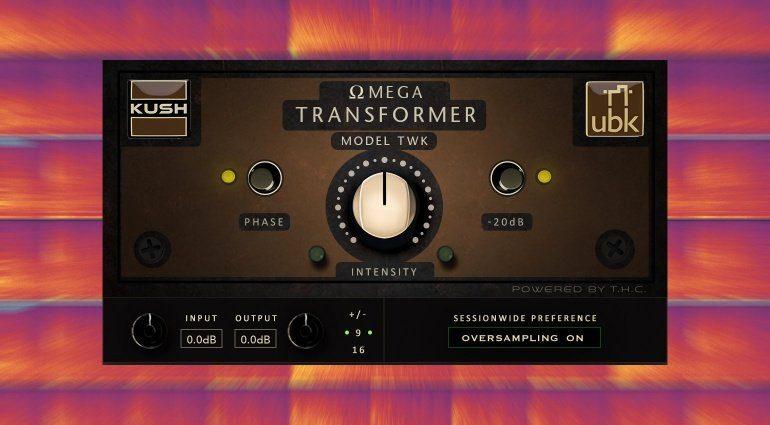 Kush Omega Transformer Model TWK: analoger Tweaker Sound für eure Tracks