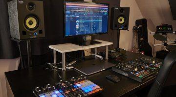 Hercules Monitor 5 Studiolautsprecher
