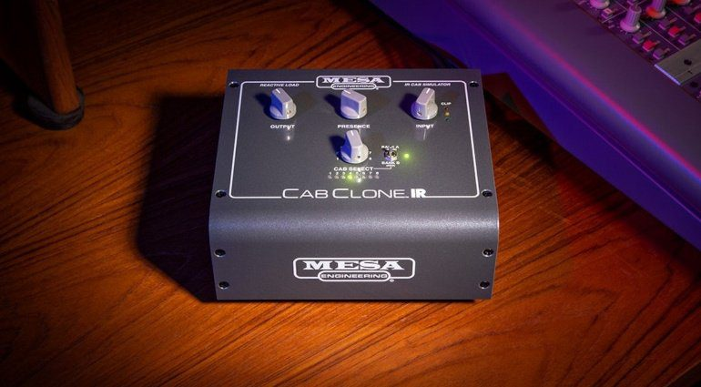 Mesa Boogie CabClone IR Pedal Teaser