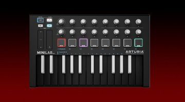 Arturia MiniLab MKII Inverted Edition