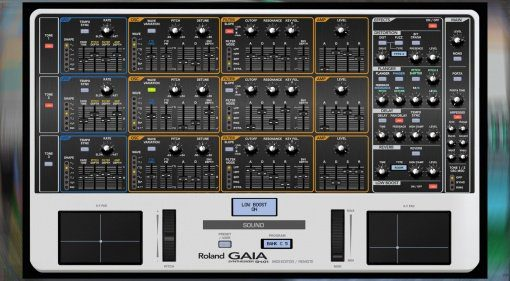 Momo Müller Roland Gaia SH-01 MIDI-Controller und Sound Editor