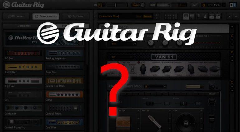 Native Instruments Guitar Rig 5 Quo Vadis Teaser