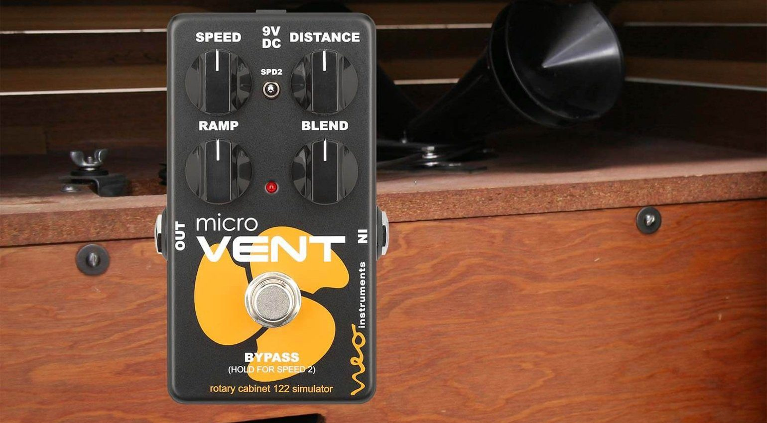 Neo Instruments Micro Vent 122 Pedal Effekt Front