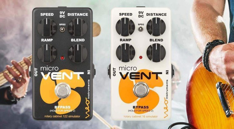 Neo Instruments Micro Vent 16 Micro Vent 122 Effekt PEdal Teaser