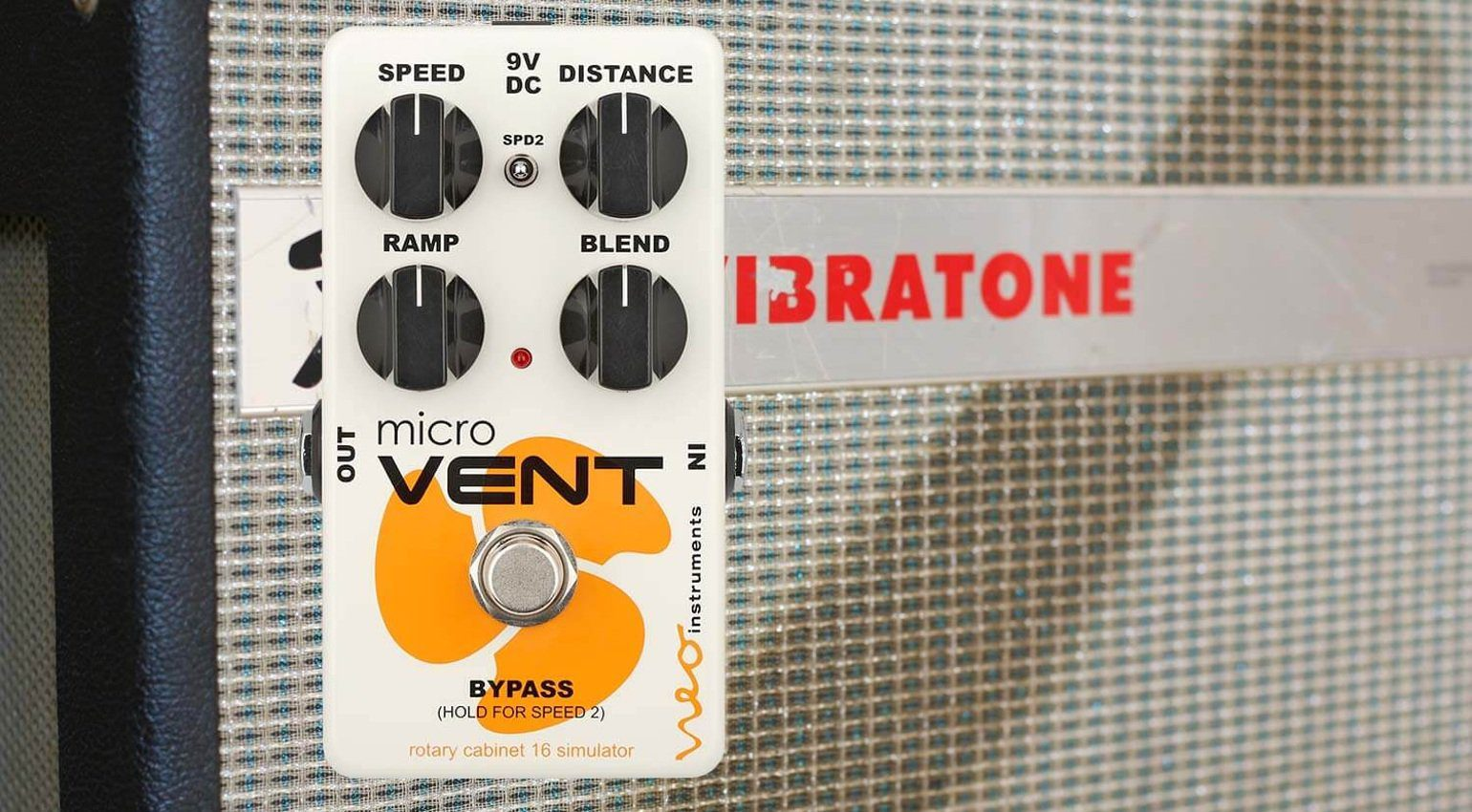 Neo Instruments Micro Vent 16 Pedal Effekt Front