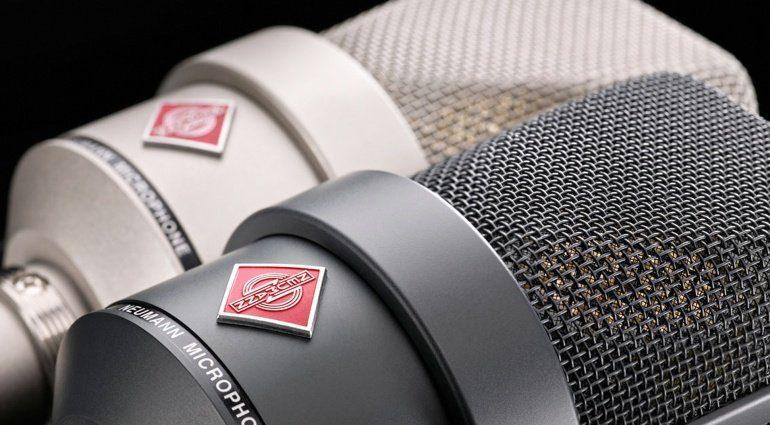 Spart beim Kauf von Neumann Mikrofonen und NDH 20 Kopfhörer