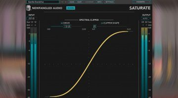 Newfangled Audio Saturate: das psychoakustische Overdrive aus Elevate als Plug-in
