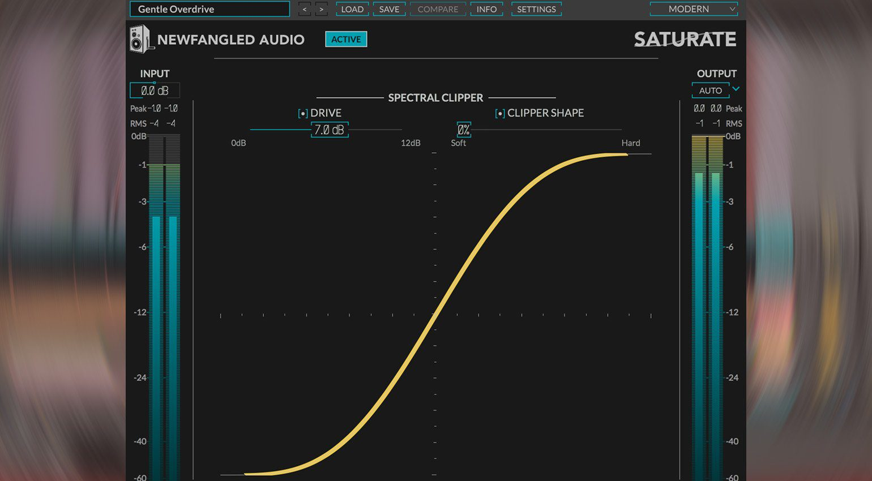 Newfangled Audio Saturate: das psychoakustische Overdrive aus Elevate als Plug-in