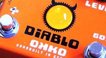 Okko Diablo Pedal Effekt Front Teaser
