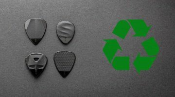 Rombo Picks Recycling Plektrum