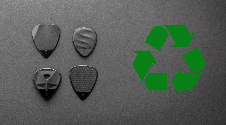 Rombo Picks Recycling Plektrum