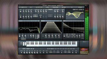 Sugar Audio Admiralizor: ein Wavetable Synthesizer mit MPE Support und einiges mehr