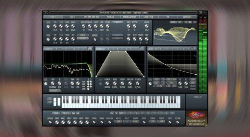 Sugar Audio Admiralizor: ein Wavetable Synthesizer mit MPE Support und einiges mehr