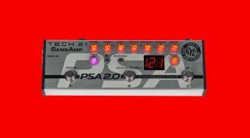 Tech21 Sansamp PSA 2.0 Effekt Pedal Teaser