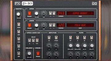 UVI PX P10: der Sequential Circuits Prophet 10 kommt zurück!