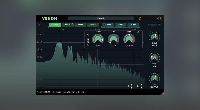 W.A. Production Venom Spectral FX