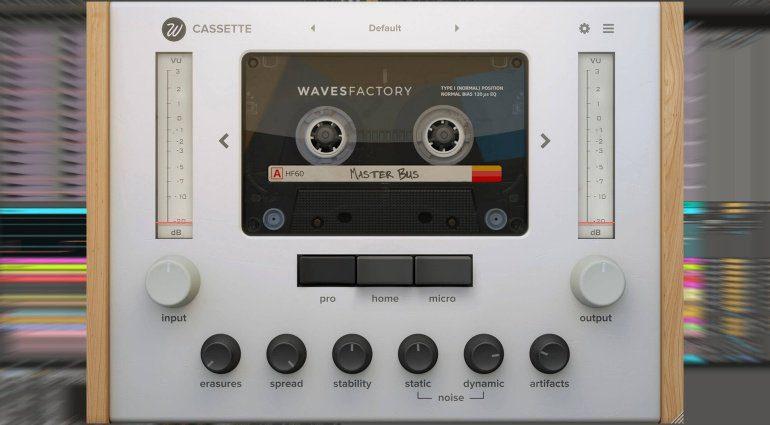 Wavesfactory Cassette bringt uns den Sound der guten alten Kassette zurück