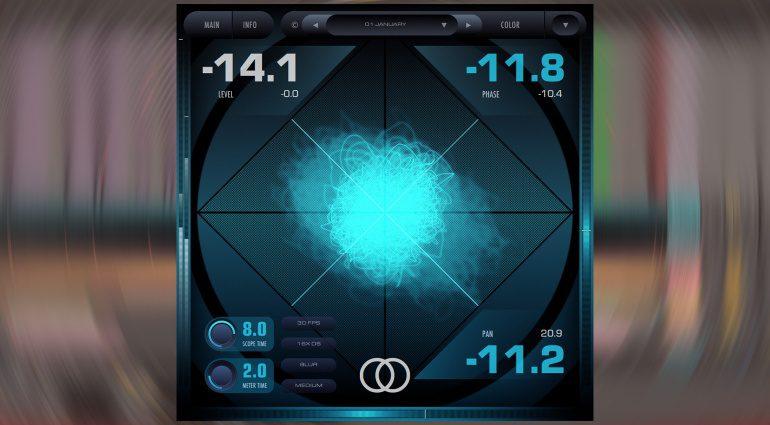 2caudio verschenkt Spatial Image Analyzer Vector zu Weihnachten