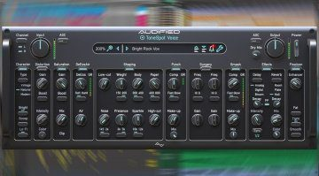 Audified ToneSpot Voice Pro: das all-in-one Voice Mixing Plug-in