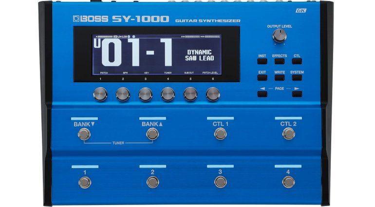 Boss SY-1000 Gitarren Synthesizer Effekt Pedal Front