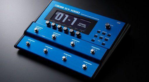 Boss SY-1000 Gitarren Synthesizer Effekt Pedal Teaser