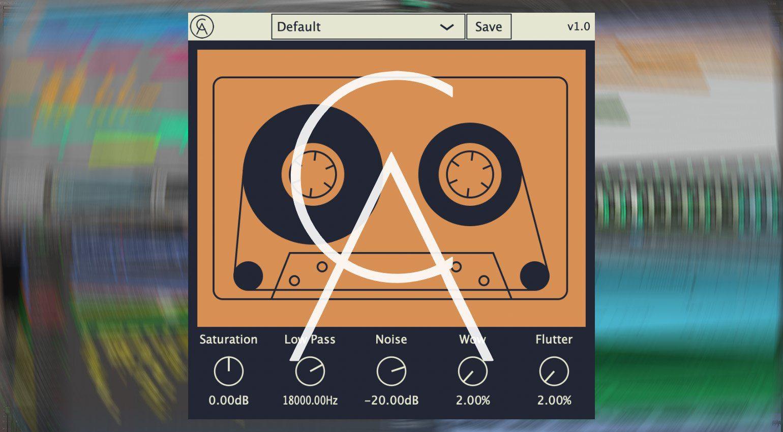 Caelum Audio Tape Cassette: kostenlose Freeware Tape Emulation als VST und für iOS