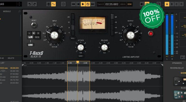 Deal: IK Multimedia Black 76 Limiting Amplifier kostenlos!