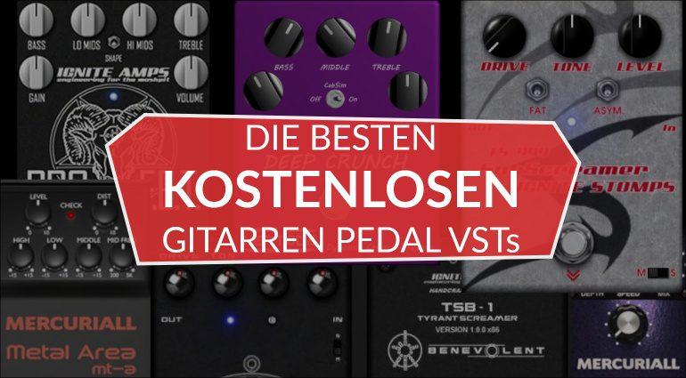 Gitarren Pedal FX VST Emulation Plug-in