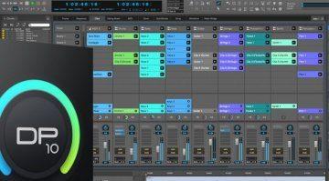Digital Performer 10-1 Update DAW GUI