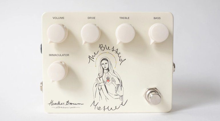 Heather Brown Electronicals Blessed Mother V2 Overdrive Effekt Pedal