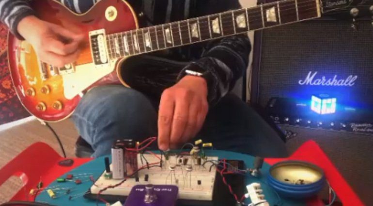 Howard Gee Kittycastermusic Catalinbread Fuzz Prototype 1