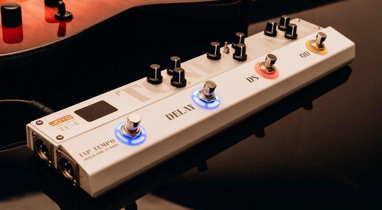 Joyo Tone Chain TC-1 Multieffekt Pedal Front