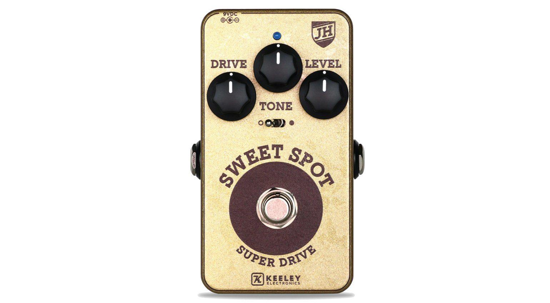 Keeley Sweet Spot Johnny Hiland Super Drive Overdrive Front