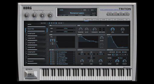 Korg Triton Software-Instrument