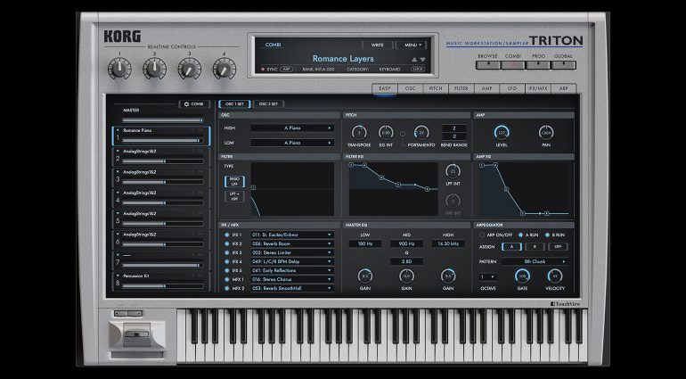 Korg Triton Software-Instrument