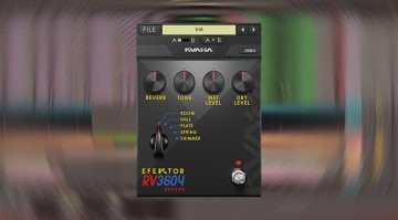 Kuassa veröffentlicht weiteres Effekt-Plug-in: Efektor RV3604 Reverb