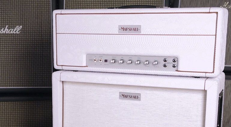 Marshall 1959HW Bernie Marsden Signature Whitesnake Topteil Box