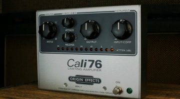 Origin Effects Cali76-TX Kompressor Pedal Teaser