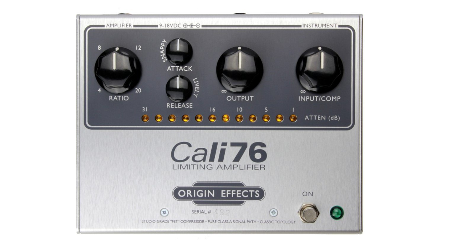 Origin Effects Cali76-TX Kompressor Pedal