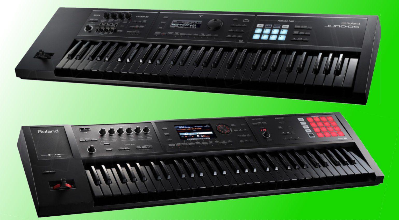 Roland bringt limitierte Sondermodelle vom FA6 und Juno DS61
